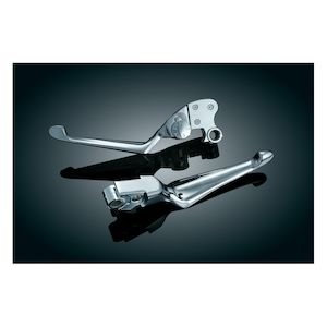 Kuryakyn Boss Blades Brake And Adjustable Clutch Lever For Harley