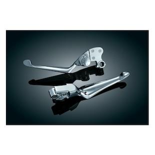 Kuryakyn Boss Blades Brake And Adjustable Clutch Lever For Harley