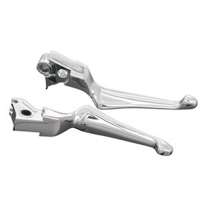 Kuryakyn Boss Blades Clutch And Brake Lever For Harley 1996-2017