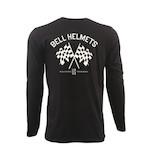 Bell Checkered Flags Long Sleeve T-Shirt