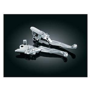 Kuryakyn Silhouette Clutch And Brake Lever For Harley Touring 2008-2016