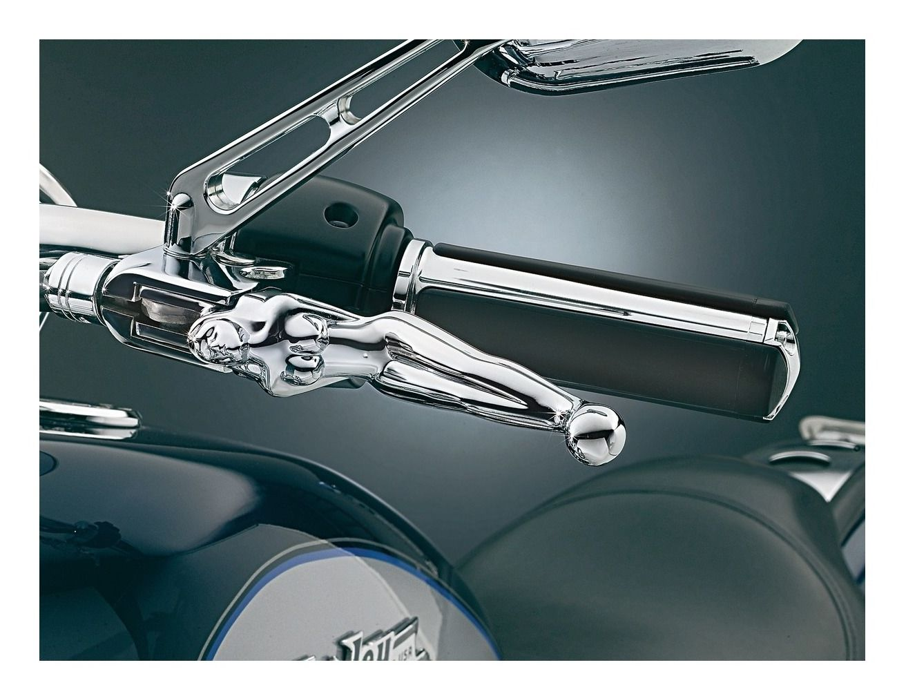 Brake Flame Hand Levers Controls For 1996-2012 Harley Davidson FLSTN Softail DELUXE Chrome Clutch