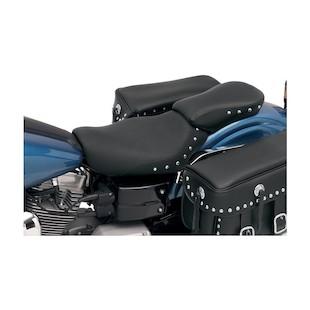 Saddlemen Renegade Deluxe / Heels Down Pillion Seat For Harley Dyna 2004-2005