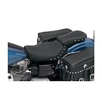 Saddlemen Renegade Deluxe / Heels Down Pillion Seat For Harley Dyna 2004-2005