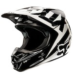 Fox Racing V1 Race Helmet Black / XL [Blemished]