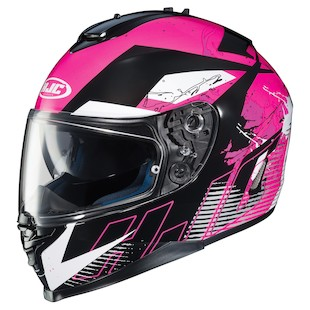 HJC IS-17 Blur Motorcycle Helmet