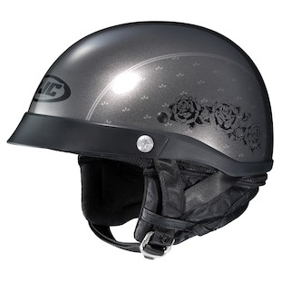 HJC CL-Ironclad Rose Motorcycle Helmet