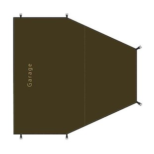Redverz Atacama / Solo Expedition Garage Groundsheet