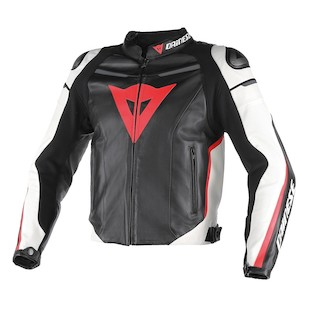 Dainese Super Fast Leather Motorcycle Jacket