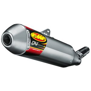 FMF Q4 HEX S/A Slip-On Exhaust Beta 2010-2014