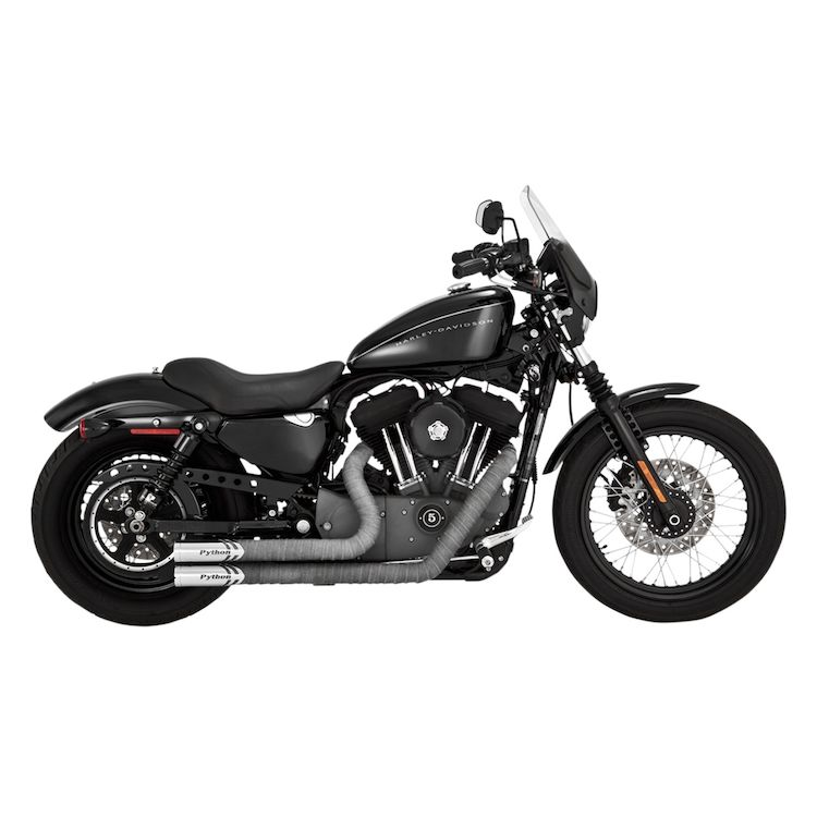 Python Throwback Exhaust For Harley Sportster 2014 2019