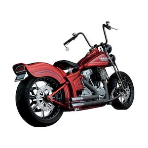 Python Throwback Exhaust For Harley Softail 1986-2011