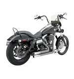 Python Throwback Exhaust For Harley Dyna 2006-2011