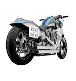 Python Staggered Duals Exhaust For Harley Softail 1986-2011