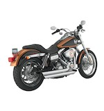 Python Staggered Duals Exhaust For Harley Dyna 2012-2015