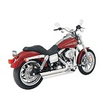 Python Staggered Duals Exhaust For Harley Dyna 2006-2011