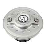 Roland Sands Radial Gas Cap For Harley 1996-2015 LED Gauge Cap / Machine Ops [Open Box]