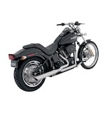 Python 2-Into-1 Exhaust For Harley Softail 1986-2011