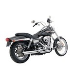 Python 2-Into-1 Exhaust For Harley Dyna 2006-2011