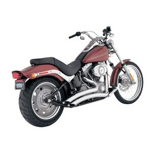 Python Venom Radius Exhaust For Harley Softail 1986-2011