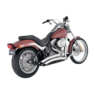 Python Venom Radius Exhaust For Harley Softail 1986-2011