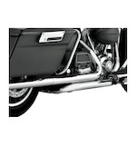Python True Dual Headpipes For Harley Touring 2010-2016