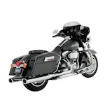 "Python Predator 3 1/2"" Slip-On Mufflers For Harley Touring 1995-2015"