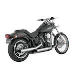 """Python Mamba 3"""" Slip-On Mufflers For Harley"""