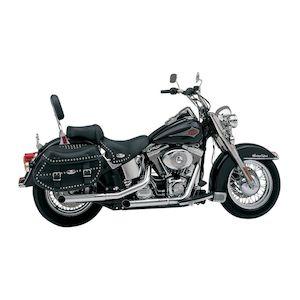 "Python Slash-Cut 2 1/2"" Slip-On Mufflers For Harley Softail 2000-2006"