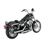 "Python Slash-Cut 2 1/2"" Slip-On Mufflers For Harley"