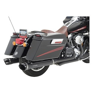 "Python Rayzer 4"" Slip-On Mufflers For Harley Touring 1995-2016"