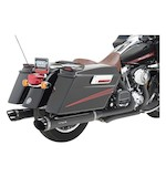 "Python Rayzer 4"" Slip-On Mufflers For Harley Touring 1995-2015"