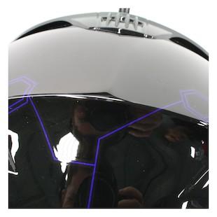 HJC IS-Max 2 Elemental Snow Helmet - Dual Lens Blue/Black / 2XL [Blemished]