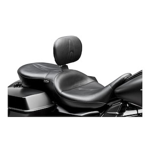 Le Pera Route 66 Seat With Backrest For Harley Touring 2008-2017
