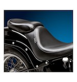 Le Pera Silhouette Deluxe Pillion Seat For Harley Softail With 200mm Tire 2006-2015