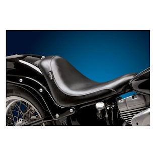 Le Pera Smooth Silhouette Solo Seat For Harley Softail 2000-2007