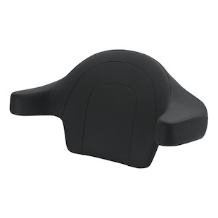 Mustang Passenger Pad With Armrests For Harley Touring 2014-2017