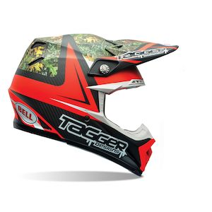 Bell Moto-9 Carbon Flex Tagger Rekluse Helmet