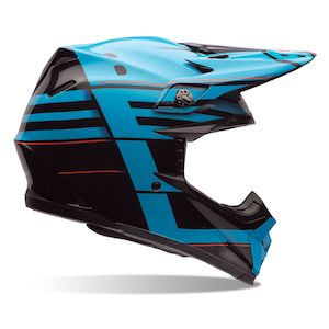Bell Moto-9 Carbon Flex Blocked Helmet (Size SM Only)