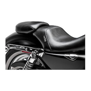 Le Pera Bare Bones Passenger Seat For Harley Sportster With 4.5 Gallon Tank 2007-2009