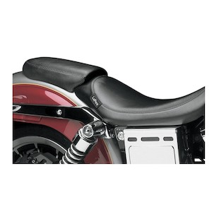 Le Pera Silhouette/Bare Bones Passneger Seat For Harley Dyna Wide Glide 1996-2003