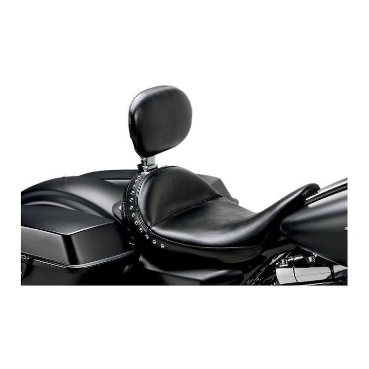 Le Pera Monterey Solo Seat With Driver Backrest For Harley Touring 2008-2018