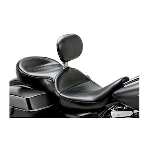Le Pera Continental Seat With Backrest For Harley Touring 2008-2018