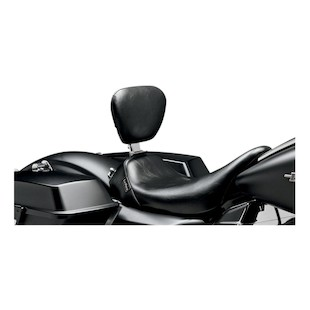 Le Pera Bare Bones Solo Seat With Backrest For Harley Touring 2008-2017