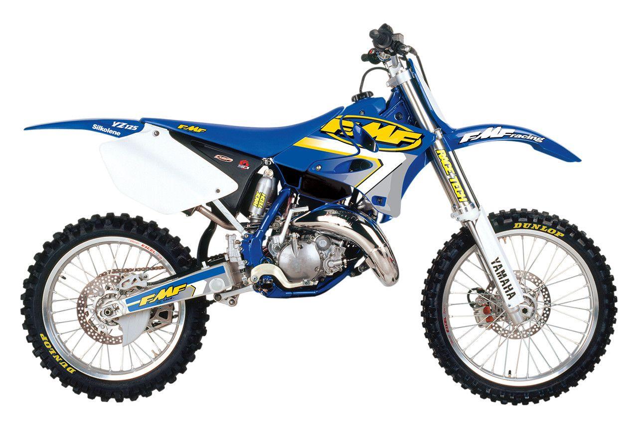 FMF Gold Series Fatty Pipe Yamaha YZ125 2000-2004