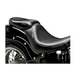 Le Pera Silhouette Deluxe Passenger Seat For Harley Softail With 200mm Tire 2006-2015