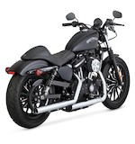 Vance & Hines Straightshots HS Slip On Exhaust For Harley