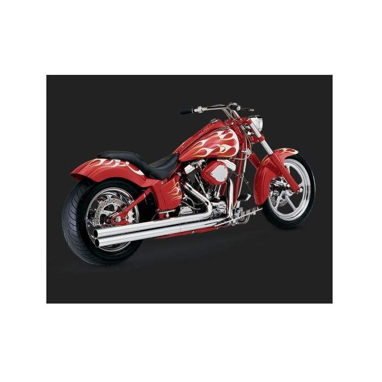 Vance & Hines Longshots Original Exhaust For Harley Softail 1986-2006
