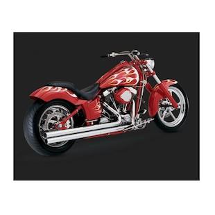 Vance & Hines Longshots Original Exhaust For Harley Softail 1986-2006