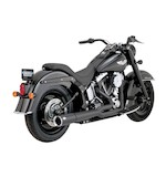 Vance & Hines 2-Into-1 Pro Pipe Exhaust For Harley Softail 1986-2011